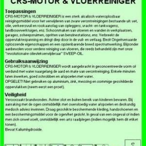 Motor & Vloerreiniger