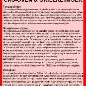 Oven & Grillreiniger