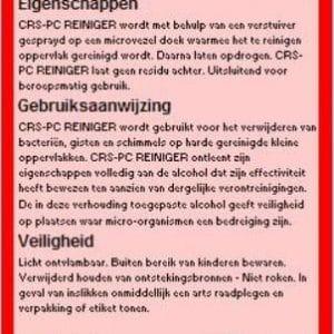 PC Reiniger - CRS