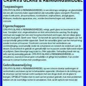 RVS Glans- en Reinigingsmiddel