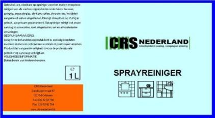 Sprayreiniger - CRS
